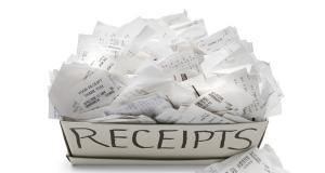 Cẩn thận với BPA có nhiều trong các tờ hóa đơn